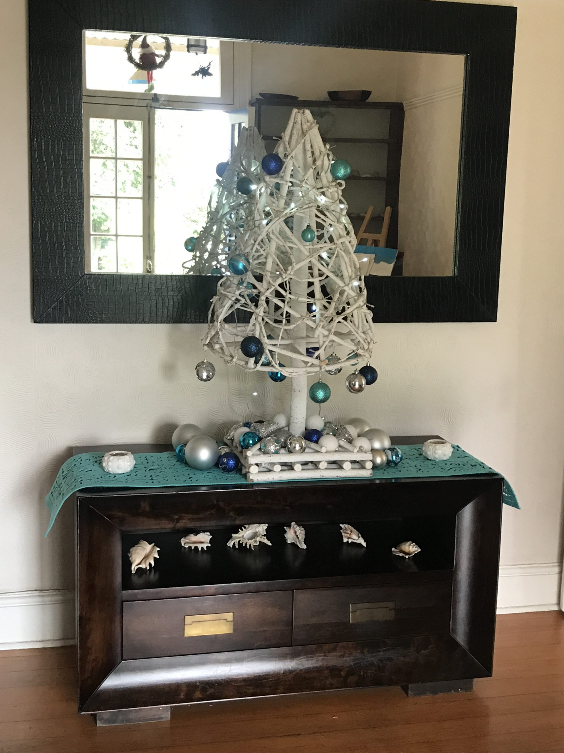My Blue Ocean Christmas Tree